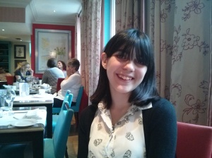 The Girl @ Afternoon Tea yesterday