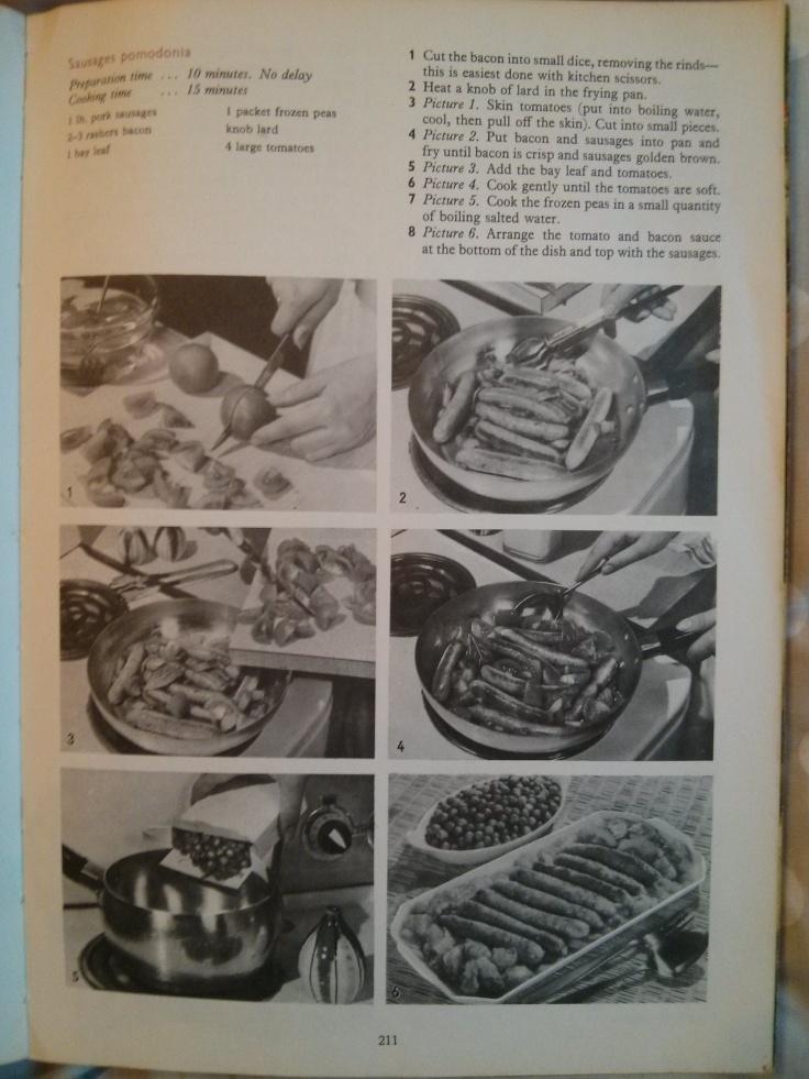 Sausages pomodonia