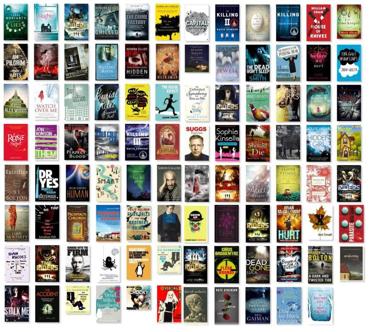All of the books I read in 2014
